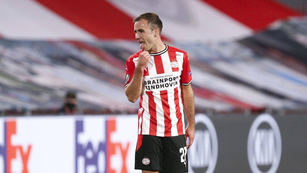 Mario Götze und PSV Eindhoven siegten in der Europa League