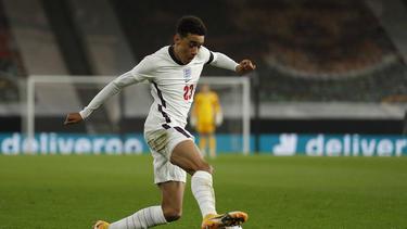 Jamal Musiala vom FC Bayern hat bislang zwei Länderspiele für die englische U21-Nationalmannschaft absolviert