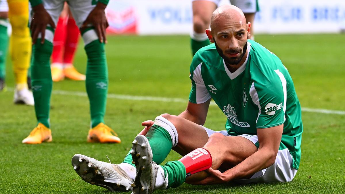 Ömer Toprak fehlt Werder auch gegen seinen Ex-Klub Leverkusen