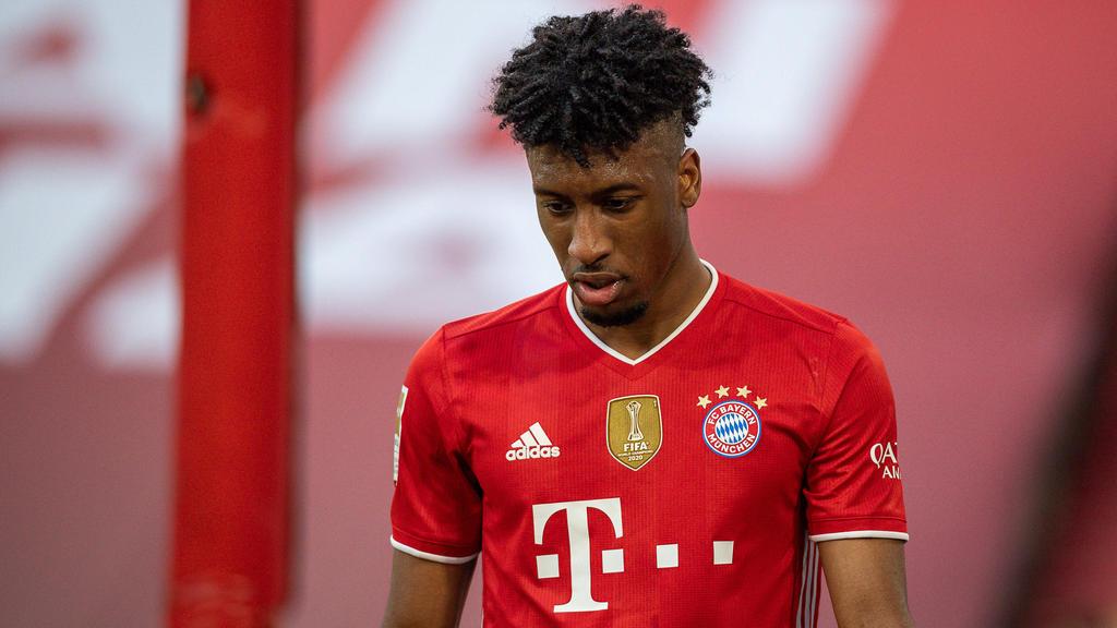 Kingsley Coman fordert vom FC Bayern eine Gehaltserhöhung