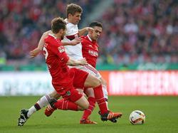 Müller gegen zwei