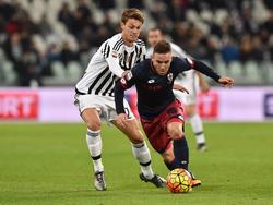 Hat bis 2020 bei Juventus unterschrieben: Daniele Rugani (l)