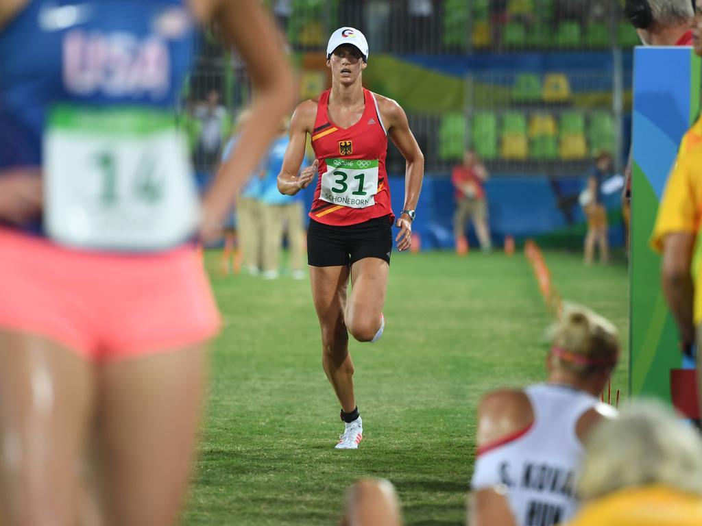 Für Lena Schöneborn lief es in Rio nicht optimal