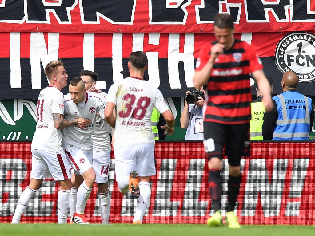 Der 1. FC Nürnberg rettete einen Punkt