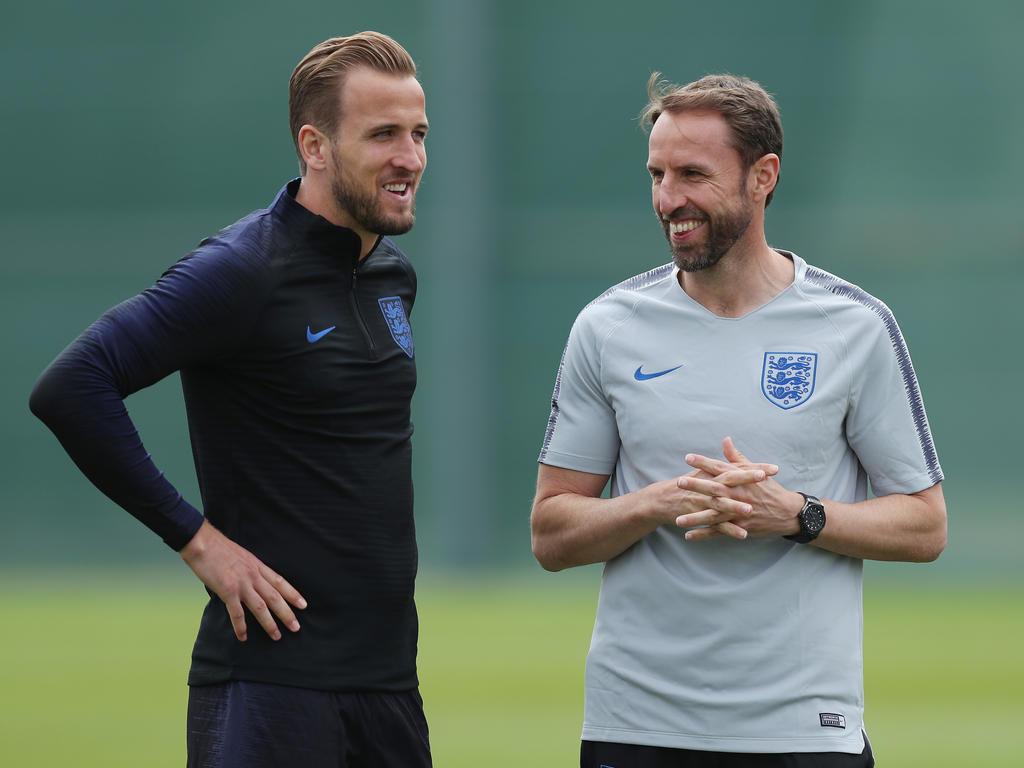 Wollen es mit England in Russland besser machen als bei der EM 2016: Angreifer Harry Kane und Trainer Gareth Southgate