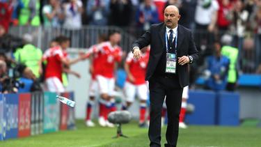 Stanislav Cherchesov soll die russische Nationalmannschaft zur EM 2020 führen