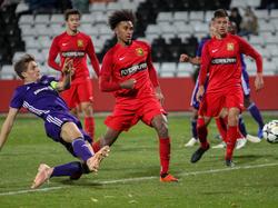 Admiras U19 remisiert gegen Anderlecht