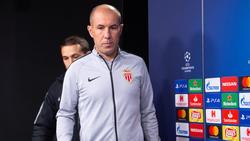 Leonardo Jardim en una comparecencia de Champions.