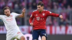 Leon Goretzka läuft beim FC Bayern langsam aber sicher zur Hochform auf