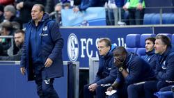 Soll Schalke vor dem Abstieg retten: S04-Coach Huub Stevens