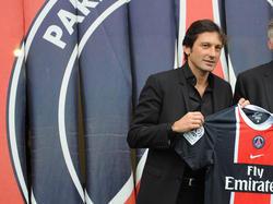 Leonardo en su anterior etapa en el PSG.