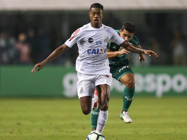Bruno Henrique hat sein Glück beim FC Santos gefunden