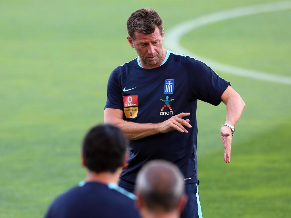 Michael Skibbe spielt mit Griechenland die WM-Playoffs