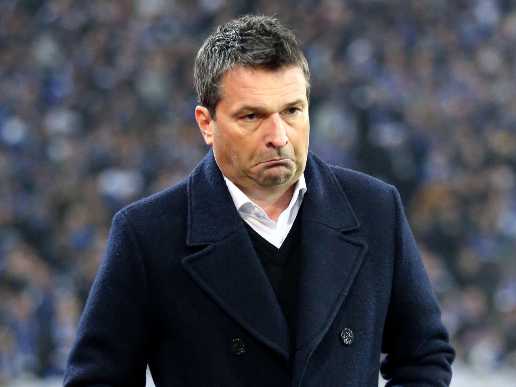 Schalke-Manager Christian Heidel will keine Unruhe von außen - auch nicht vom FC Bayern