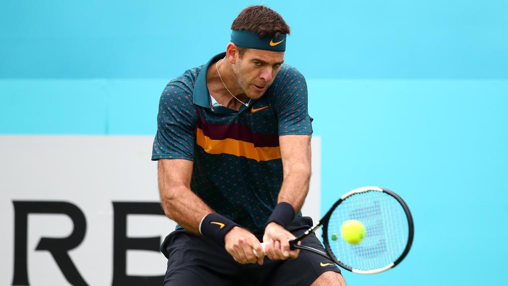Juan Martin del Potro startet nicht bei den US Open