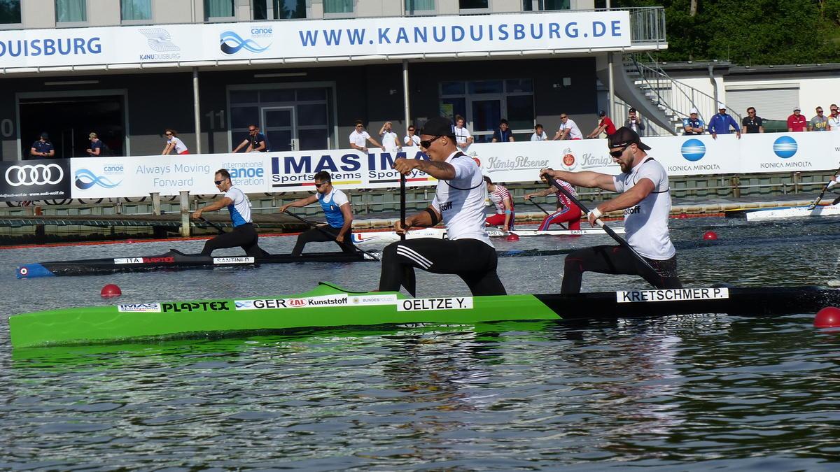 Die deutschen Kanuten sind nach der WM zuversichtlich für Olympia 2020