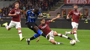 Romelu Lukaku erzielte für Inter das 2:0