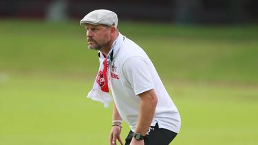 Steffen Baumgart hat mit dem 1. FC Köln große Ziele