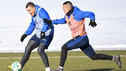 Kyriakos Papadopoulos (l.) und Bobby Wood haben beim HSV keine Zukunft mehr