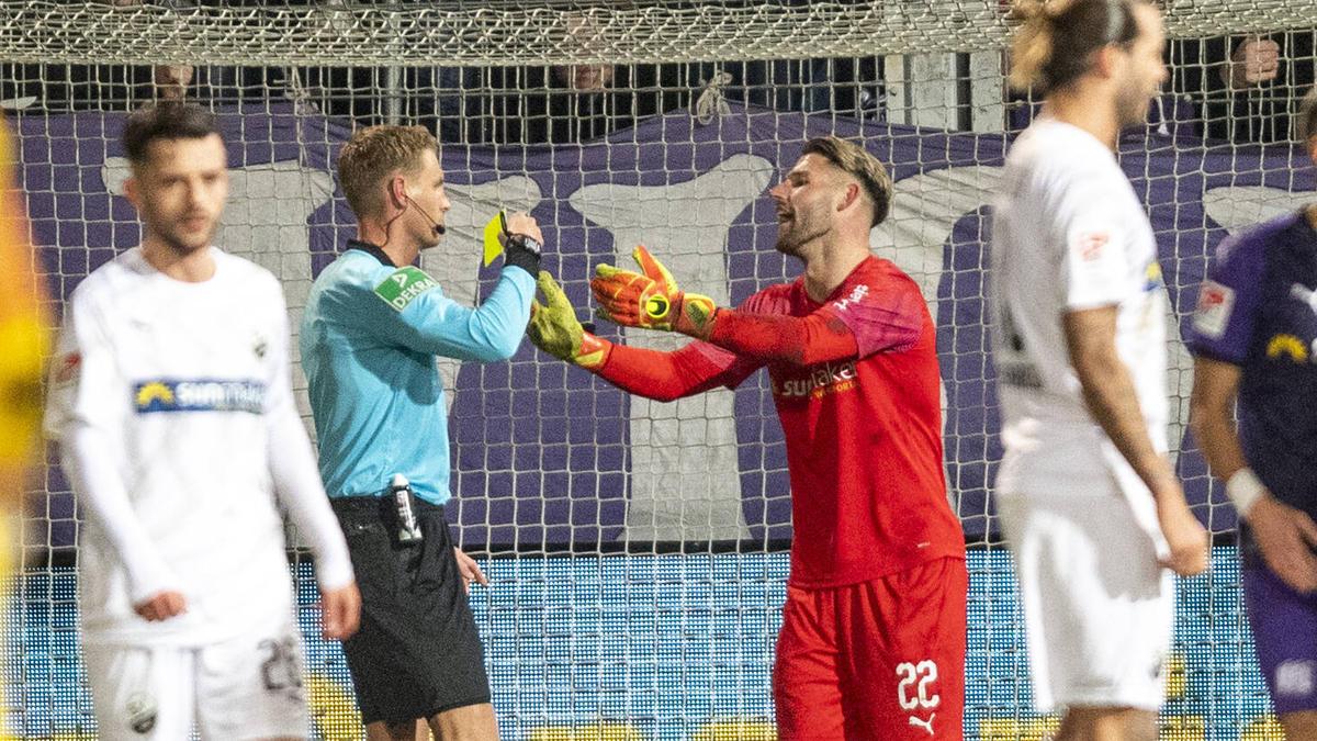 Flog gegen den SV Sandhausen vom Platz: Philipp Kühn vom VfL Osnabrück
