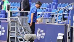 David Wagner hofft auf einen positiven Schlusspunkt mit dem FC Schalke 04
