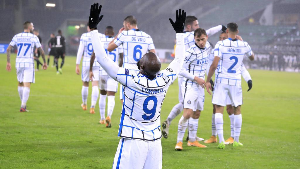Romelu Lukaku war der Matchwinner für Inter Mailand gegen Gladbach