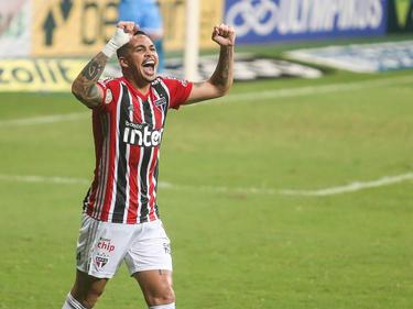 Luciano anotó la diana que dio la victoria a los paulistas.