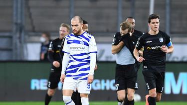 Der MSV Duisburg steckt mitten im Abstiegskampf