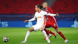 Fabinho completó un gran partido ante el Leipzig.