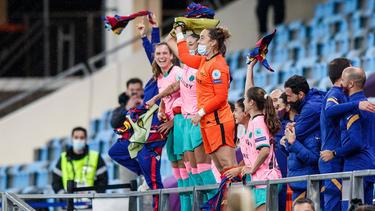 Das Frauen-Team des FC Barcelona ist Champions-League-Sieger