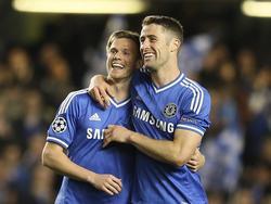 Tomáš Kalas (l.) hat eine Zukunft beim Chelsea FC
