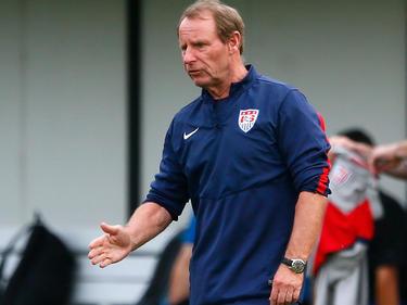 Berti Vogts unterstützte das US-Soccer-Team bei der Vorbereitung auf die WM