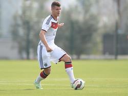 Erik Wekesser ist Junioren-Nationalspieler