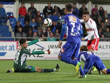 Jonatan Soriano erlöste Salzburg in Horn erst in der Verlängerung