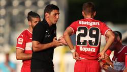 Tayfun Korkut (l.) und der VfB wollen ihre Form untermauern