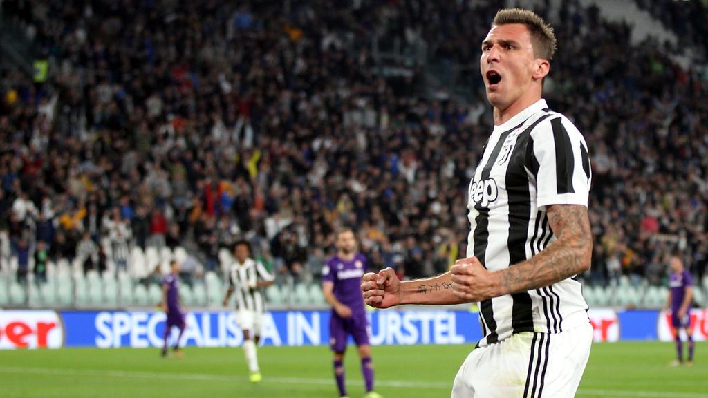 Mario Mandzukic bleibt offenbar bei Juventus Turin