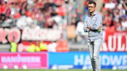 Michael Köllner und der Club gastieren am Dienstag in Dortmund