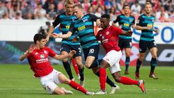 Hertha BSC und der 1. FSV Mainz 05 trennten sich unentschieden