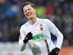 Michael Gregoritsch steht wohl bei Werder Bremen auf dem Zettel