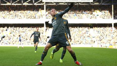 Vardy marcó el único gol del primer partido de la Premier 2019. (Foto: Getty)