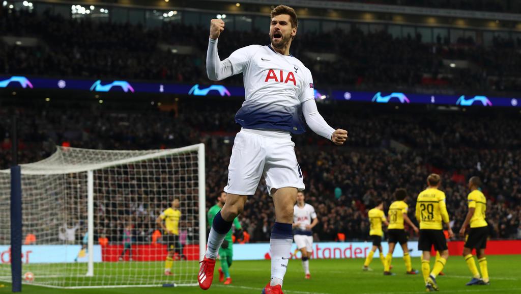 Tottenham Hotspur steht mit einem Bein im Viertelfinale