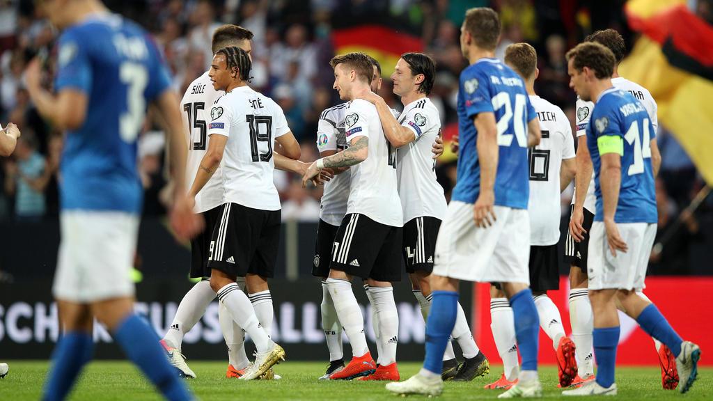 Deutsche Nationalmannschaft überzeugt gegen Estland