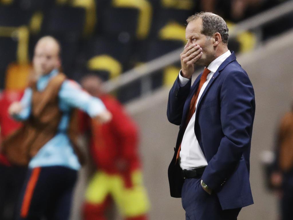 Bondscoach Danny Blind wurde vom KNVB gefeuert