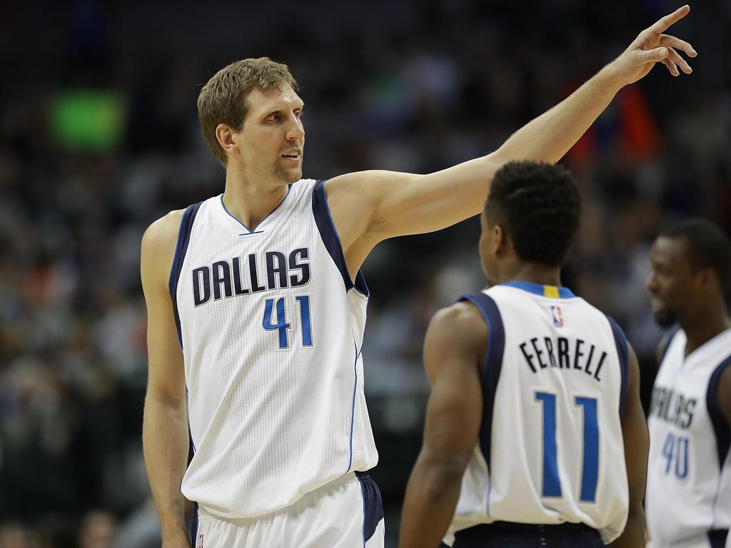 Dirk Nowitzki war mit 23 Punkten bester Werfer der Dallas Mavericks