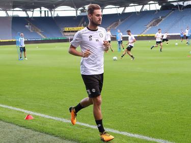 Lukas Spendlhofer steht nun vor dem Comeback in der Bundesliga