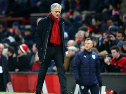 Ärgert sich über Benachteiligung: United-Teammanager José Mourinho