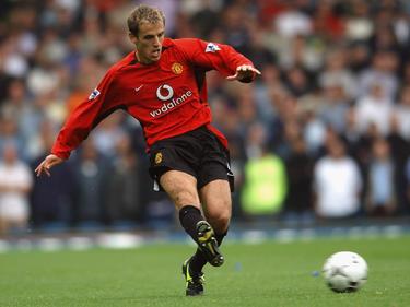 Phil Neville en una imagen como jugador del Manchester. (Foto: Getty)