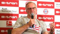 Kar-Heinz Rummenigge sprach über die Kaderplanung des FC Bayern