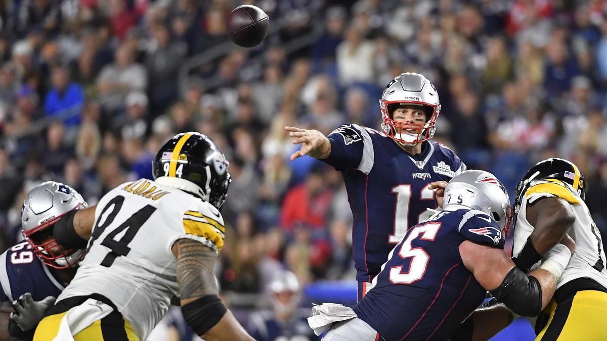Brady und die Patriots überrollen Pittsburgh mit 33:3