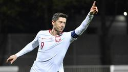 Ist mit Polen bei der EMdabei:Bayern-Torjäger Robert Lewandowski